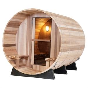 Picture of Regular Canopy Barrel Saunas