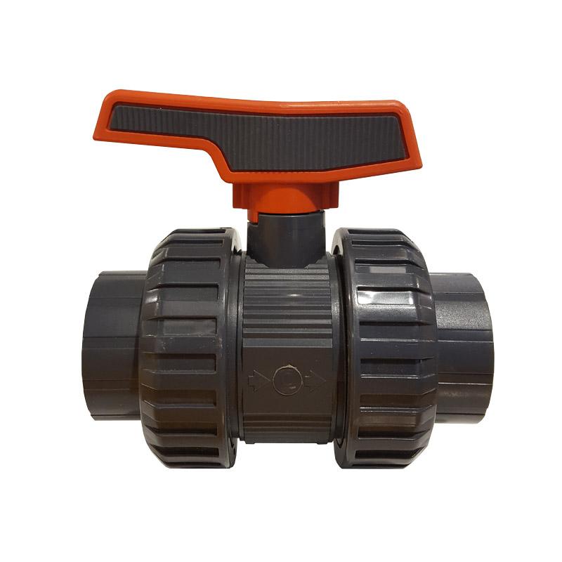 Swimming Pool Plumbing Valves : Pvc double union valve swimming pool plumbing fittings
