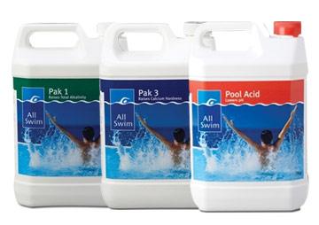 All Swim water balance chemicals