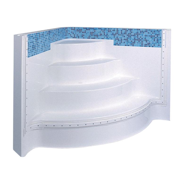 Internal Corner Step Units For Swimming Pools