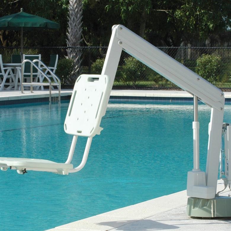 Swimming pool lifts and hoists - Domestic swimming pools ...