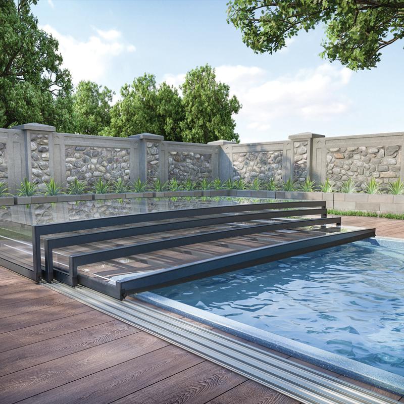 Low Level Pool Enclosures | Swimming Pool Buildings