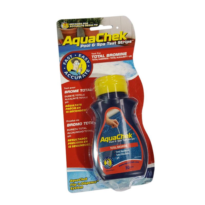 Aquachek Bromine Water Test Strips