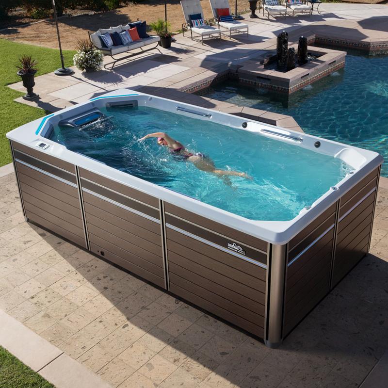 Endless Pools E550 Fitness System Swim Spa